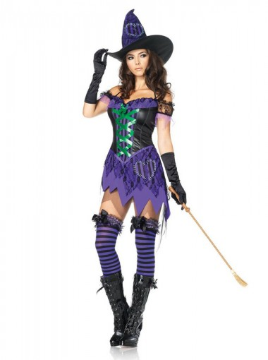 Sexy Halloween Witch Costumes
