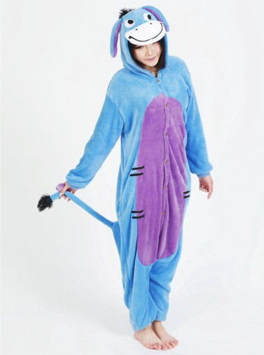 Women Fashion Flannel Donkey One-pieces Women Pajamas