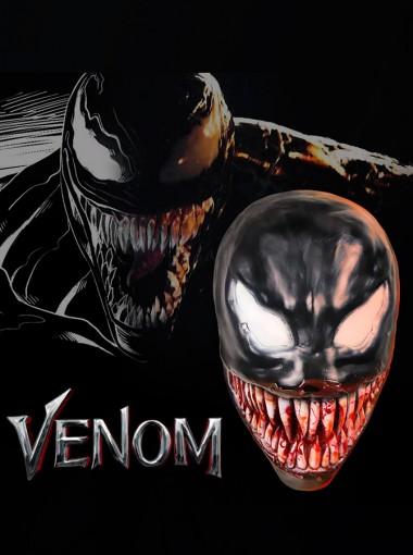Venom Symbiote Cosplay Mask Latex Helmet Adults Version