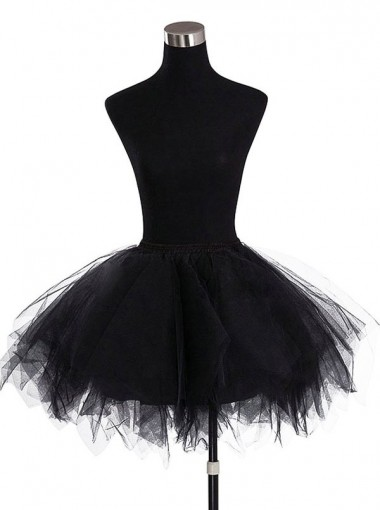 Women's Mini Tutu Ballet Bubble Tutu with Multi-layer Frilly Petticoat