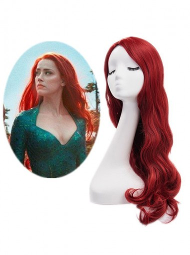 Aquaman Mera Cosplay Wig