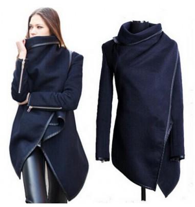 Sexy Women Loose Long Sleeve Fall Party Jacket Women's Overcoat