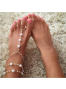 Beading Foot Jewellery (Sold in a single piece)
